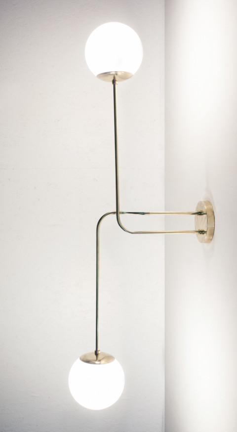 Sessile Brass Pendant